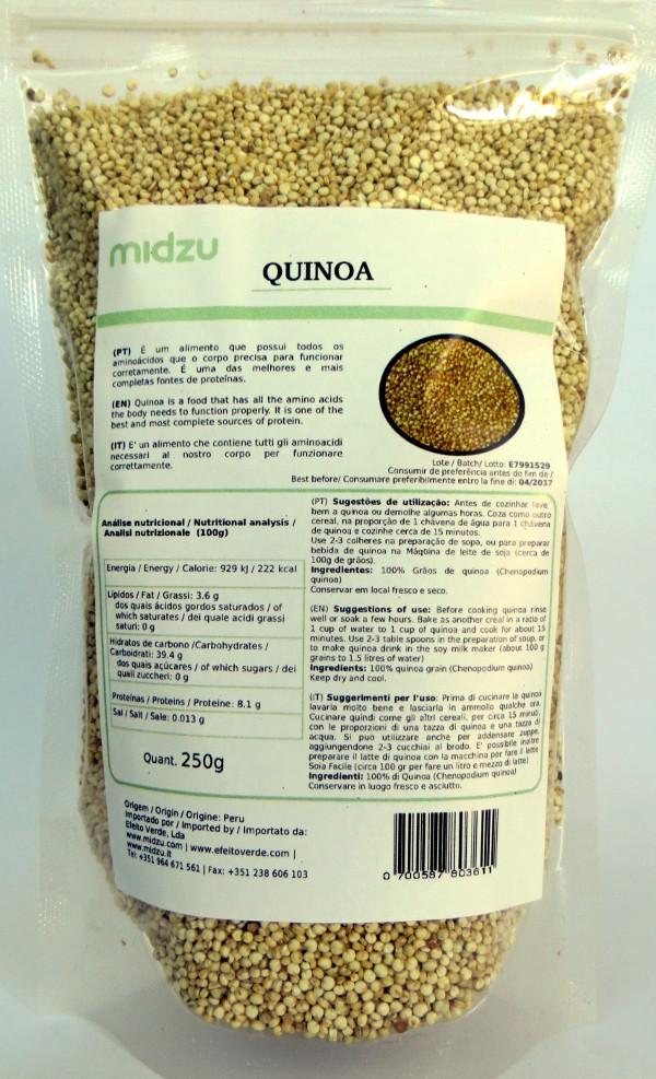Quinoa Midzu 250g