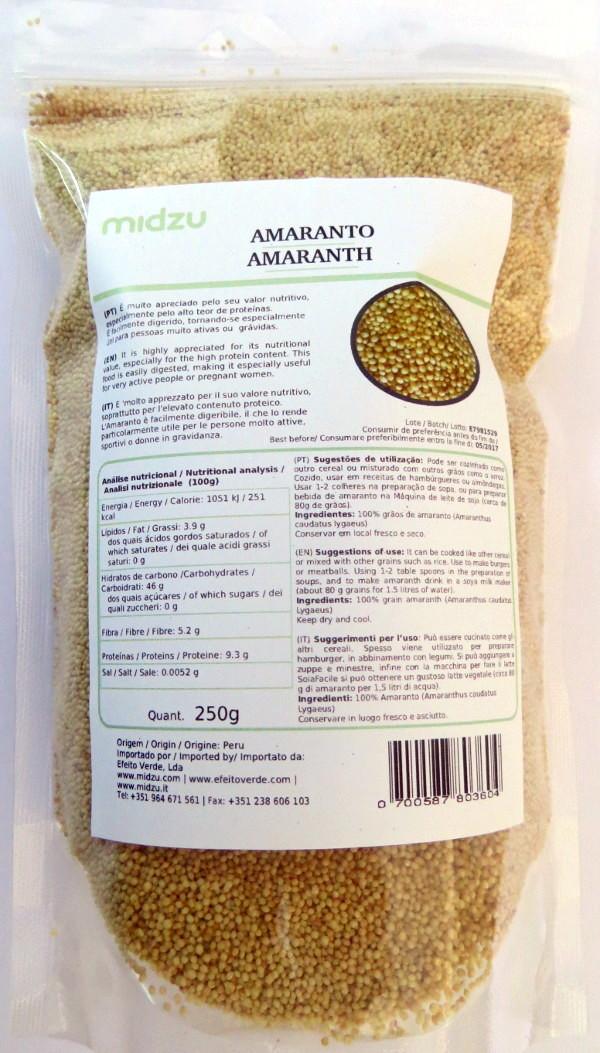 Amaranth Midzu 250g