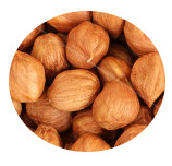 Organic raw hazelnuts (with skin) Midzu 200g