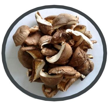 Organic dried shiitake mushrooms Midzu 100 g