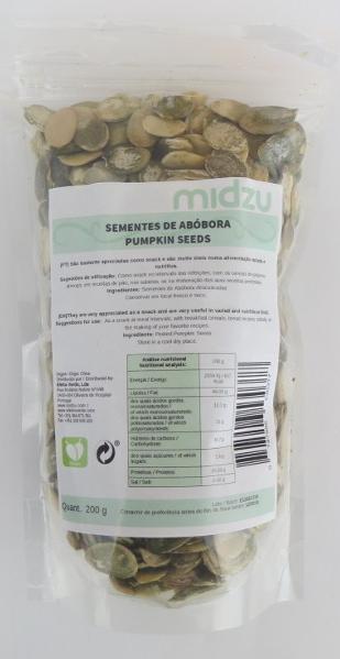 Pumpkin Seeds Midzu 200 g